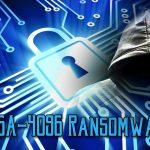 Ransomware-ul RSA-4096 captură de ecran