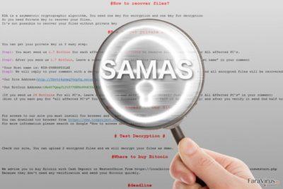 Ransomware-ul Samas sub lupă
