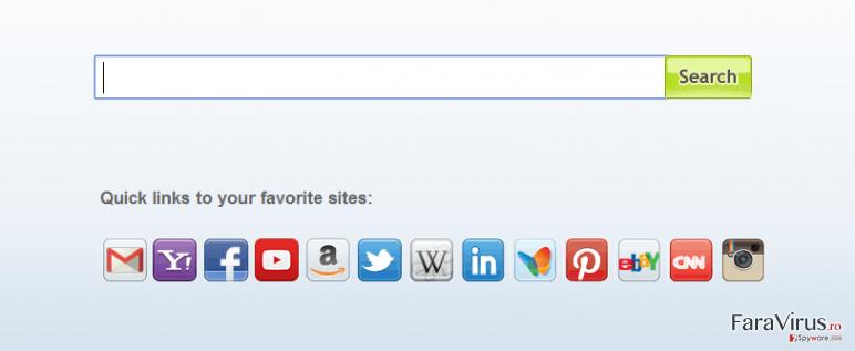 Virusul Search.myway.com captură de ecran