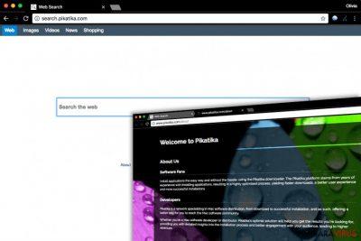 Spyware-ul Search.pikatika.com