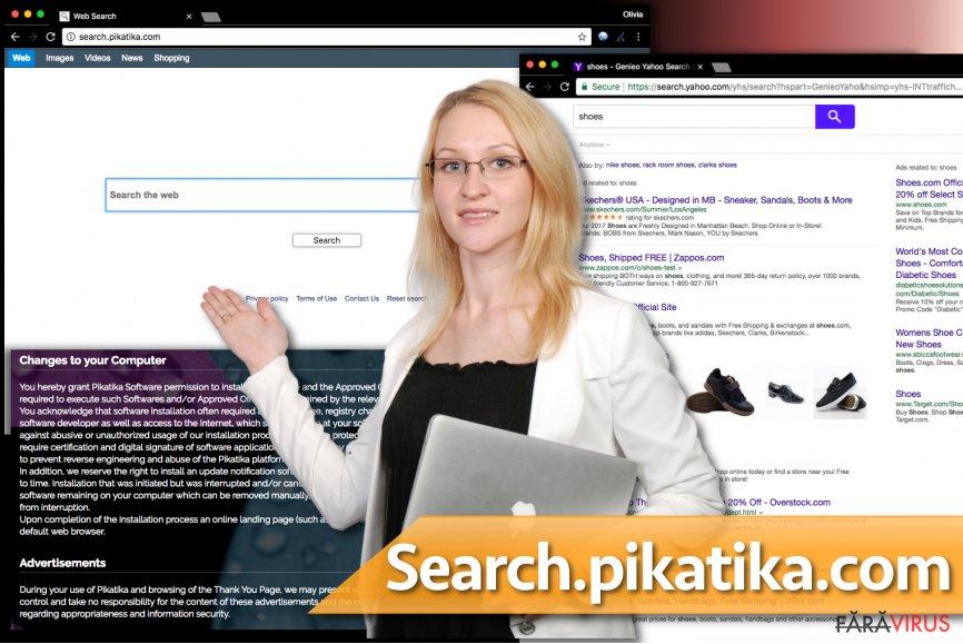 Virusul Search.pikatika.com