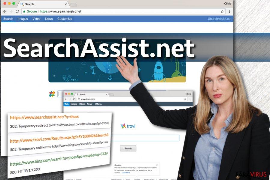Virusul SearchAssist.net