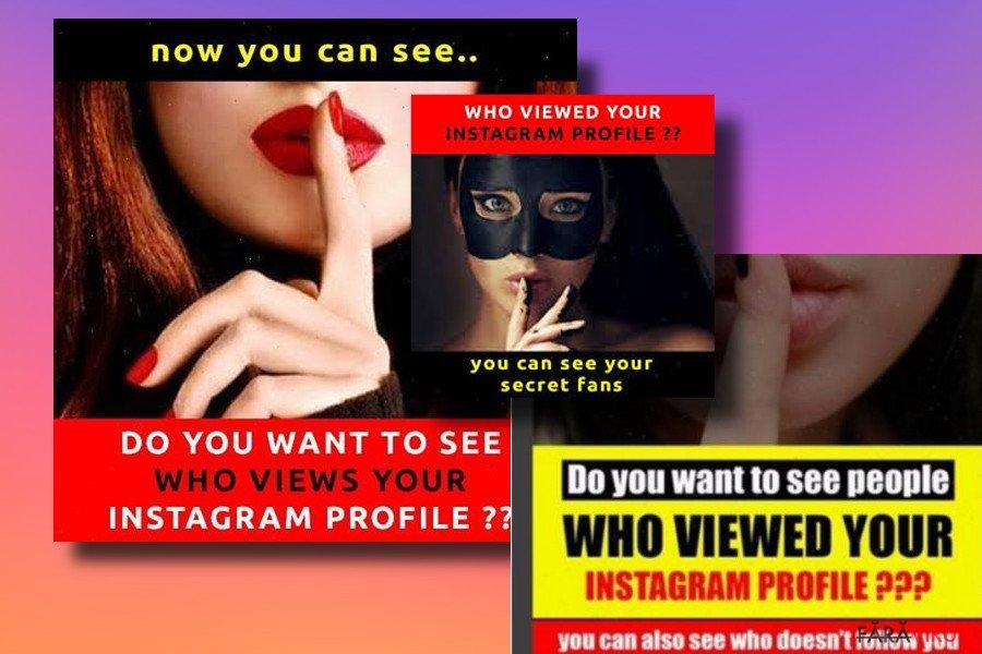 Instagram virus