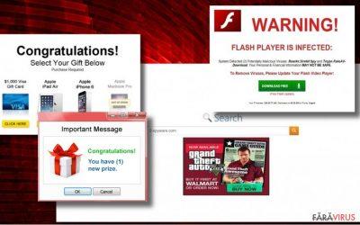 Exemplu de reclame de la Tags.bluekai.com