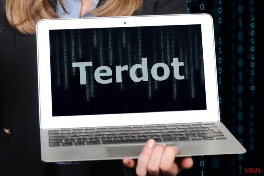 Imaginea virusului Terdot