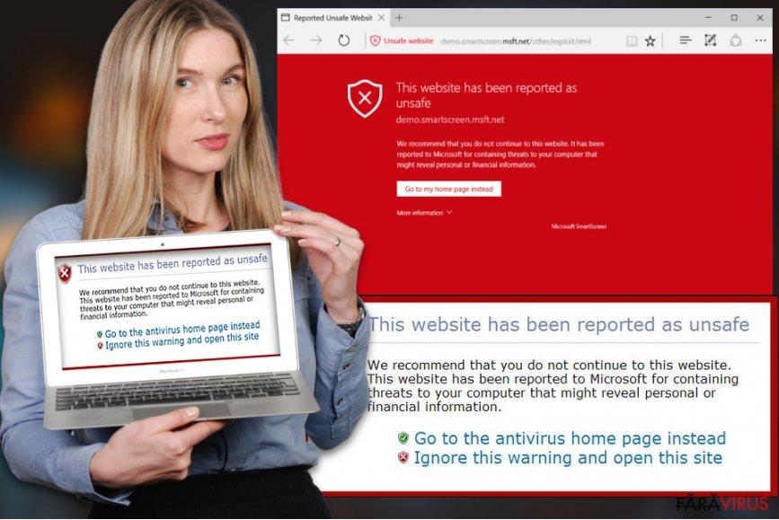Acest website a fost raportat ca fiind un virus nesigur