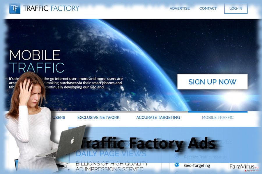 Website-ul Traffic Factory