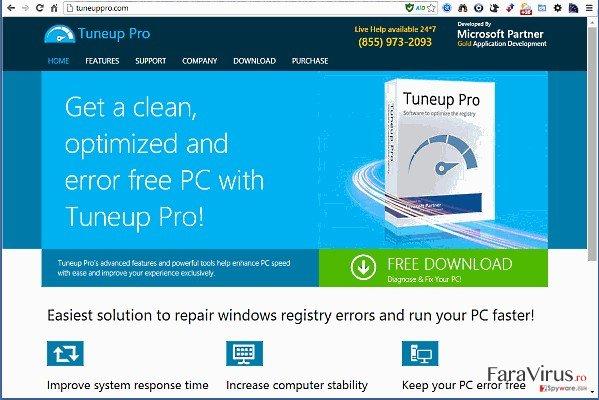 TuneUp Pro captură de ecran