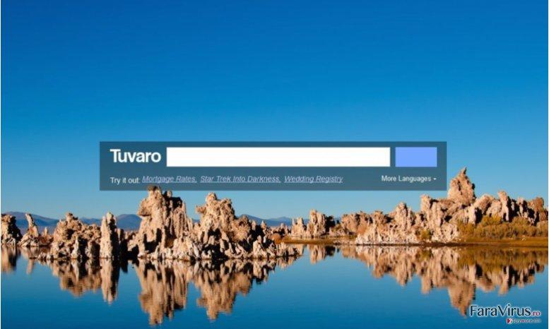 Virusul Tuvaro captură de ecran