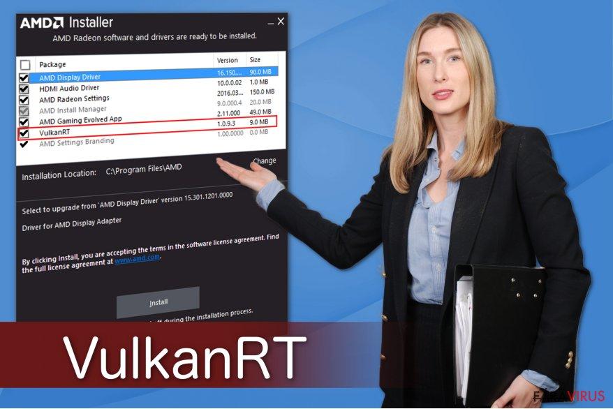 Ilustrarea lui VulkanRT