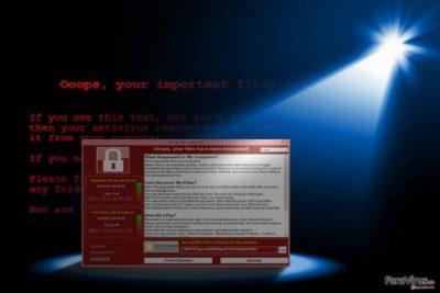 Imaginea care arată apariţia lui WannaCry 3.0