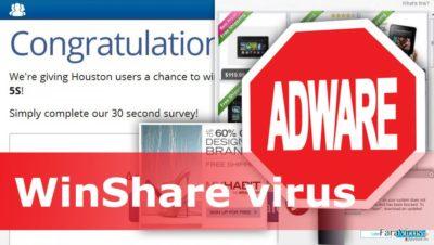 Ilustrarea virusului WinShare