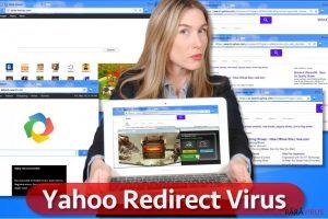 Virusul de redirecţionare Yahoo