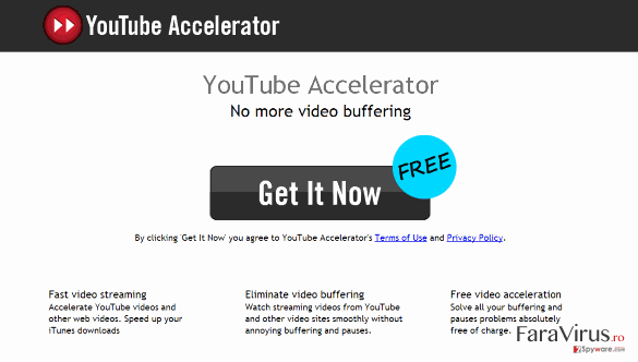 Youtube Accelerator captură de ecran