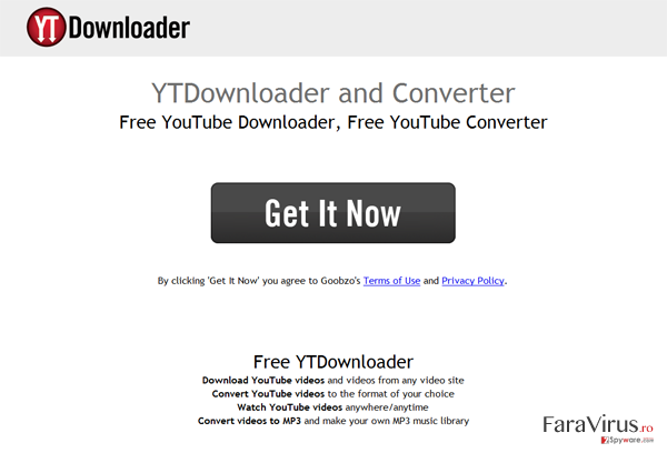 YTDownloader captură de ecran